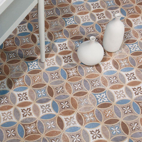 Belli 45 Moresque Encaustic Effect Naklo Tiles