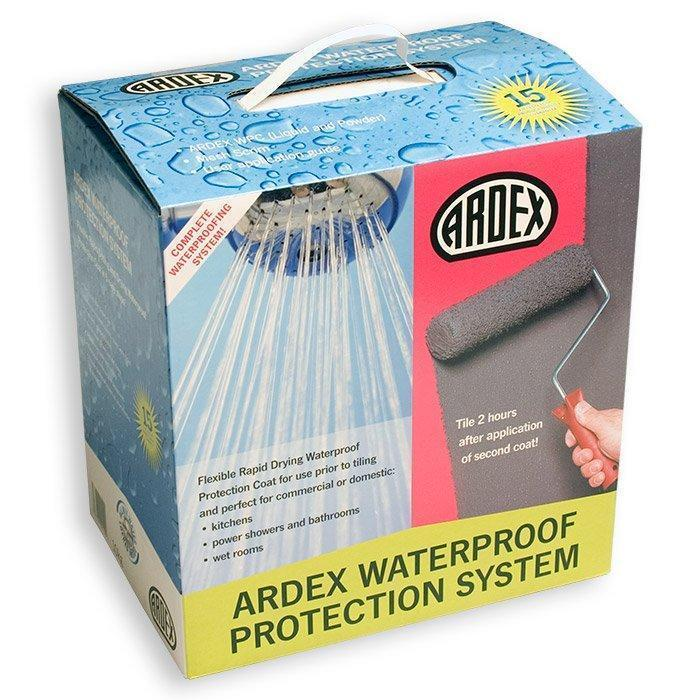 Ardex WPC Flexible Rapid Set & Drying Waterproof Protection