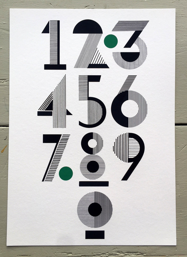 HOUSE NUMBER PRINT