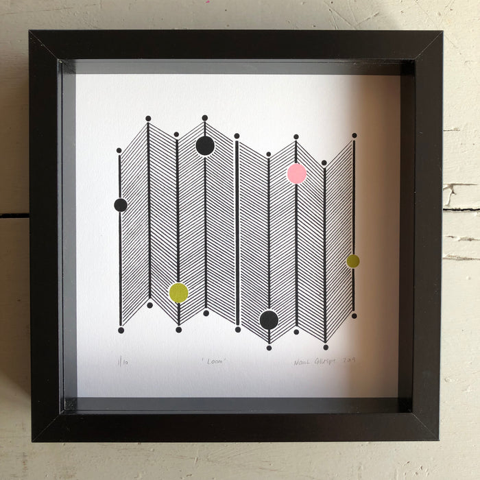 LOOM-SCREEN + GICLEE PRINTS