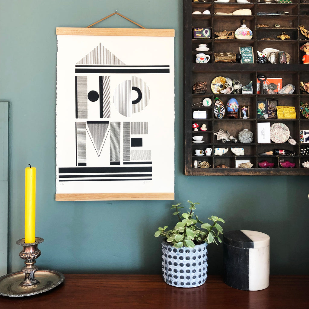 HOME limited edition Screen print