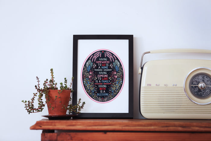 Home Blessing Print