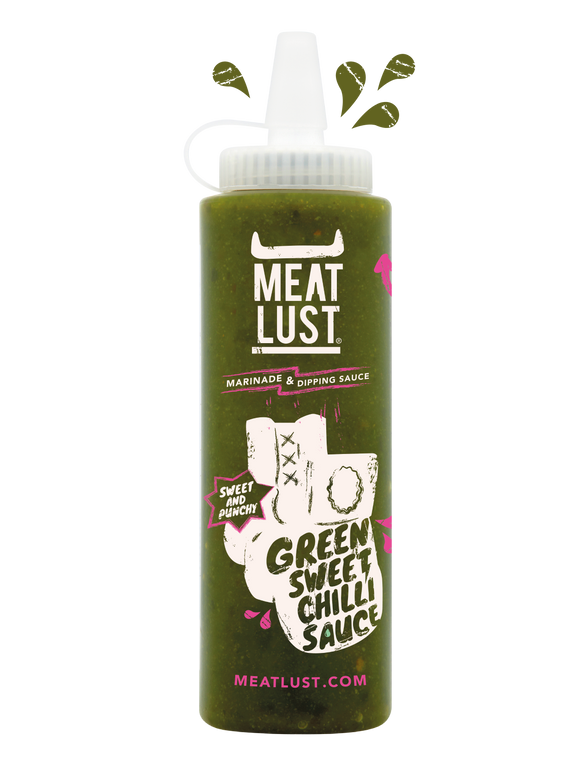 Meat Lust Green Sweet Chilli Sauce (250ml)