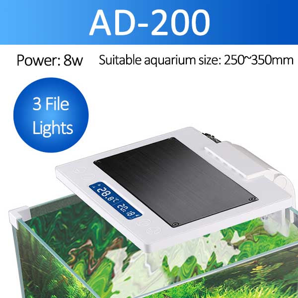 Grande lampe à LED pour éclairage aquarium Sunsun