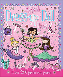 My Giant Dress-up Doll Book