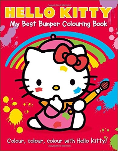 Hello Kitty : My Best Bumper Colouring Book