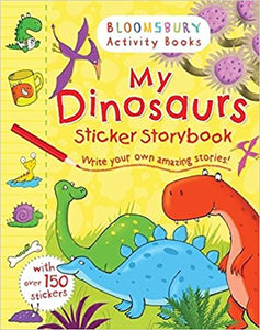 My Dinosaurs Sticker Storybook- Great Price! | Bags of Books | Ireland