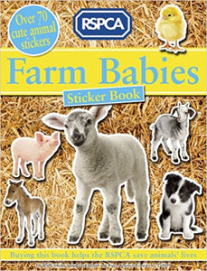 Farm Babies Sticker Book -Activity Books | Bags of Books | Ireland