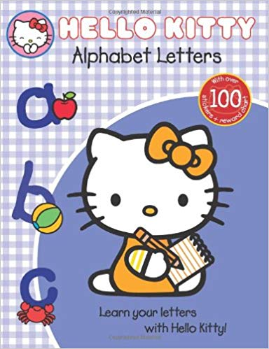 Hello Kitty Alphabet Letters- Activity Books | Bags of Books | Ireland