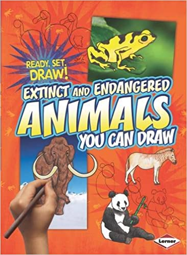 Ready, Set, Draw: Extinct and Endangered animals
