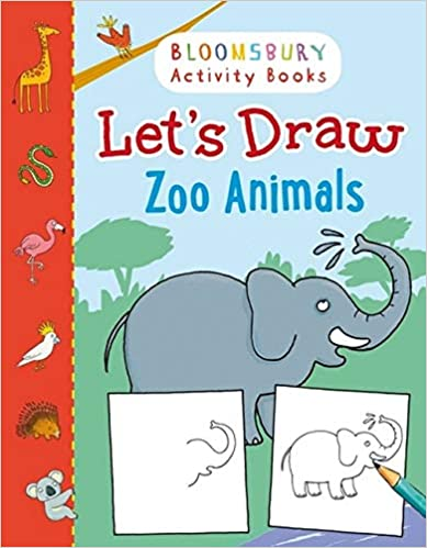 Lets Draw: Zoo Animals