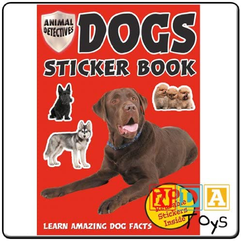 Dogs Sticker Book