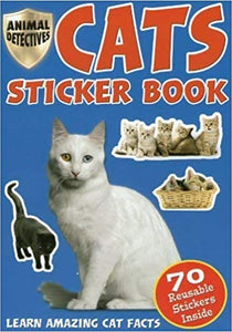 Cats Sticker Book