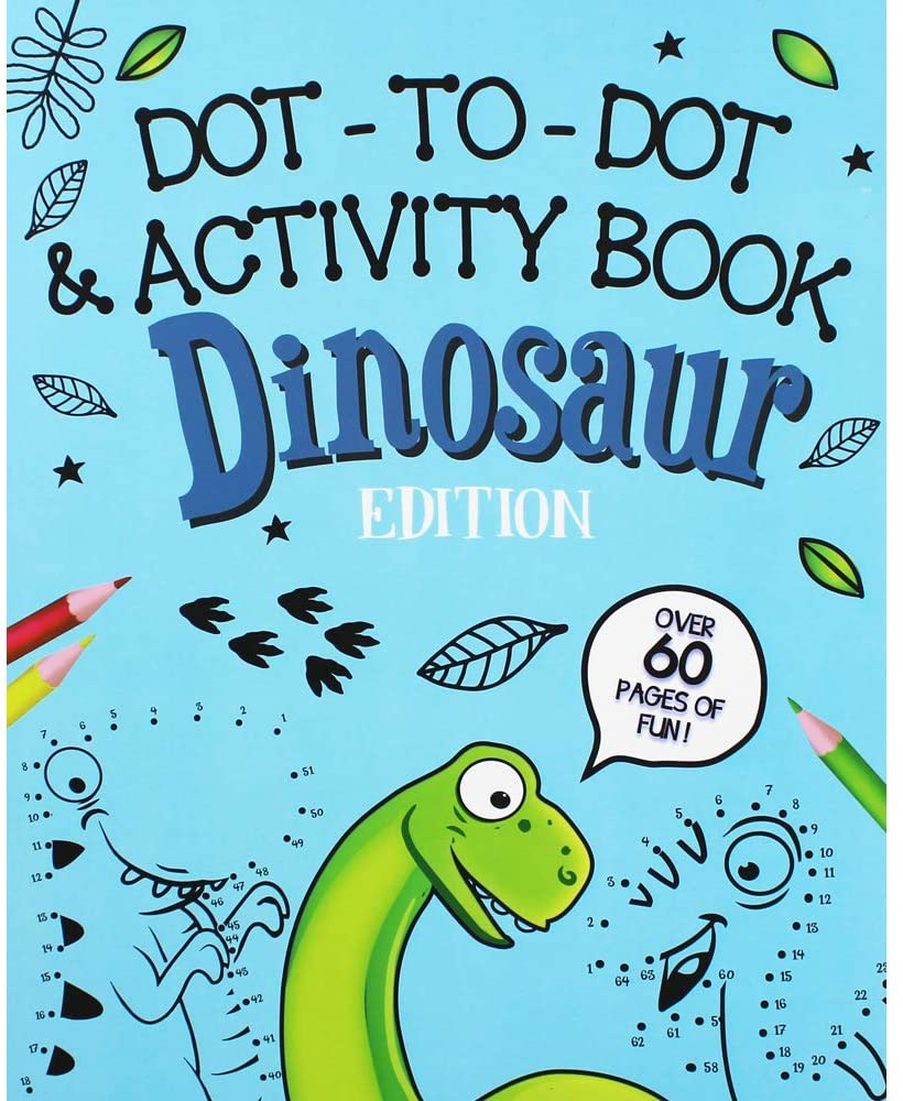 Dot-to-Dot Activity book Dinosaur