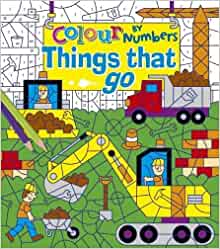 Colour by Numbers : Things That Go