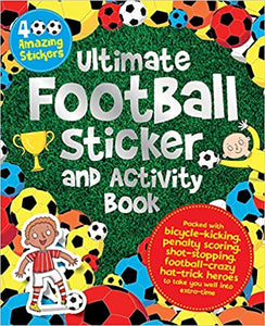 Ultimate football Sticker Activity book