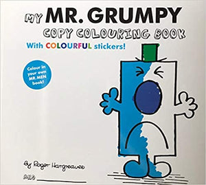 Mr Men: My Mr Grumpy copy Colouring book
