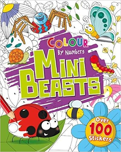 Clour by Numbers: Mini Beasts