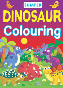 Bumper Dinsaur Colouring Book