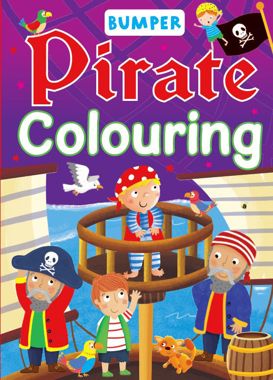 Bumper Pirate Colouring Book