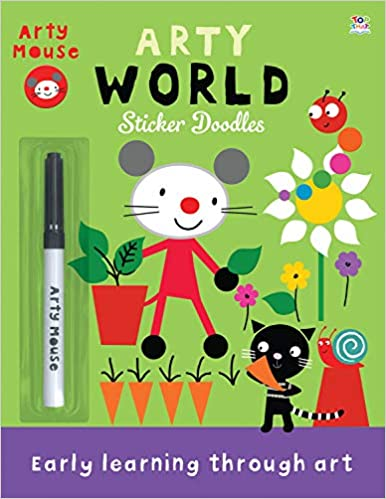 Arty World: Sticker Doodles