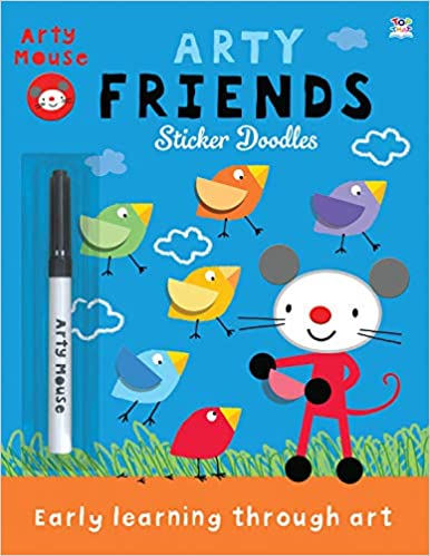 Arty Friends: Sticker Doodles