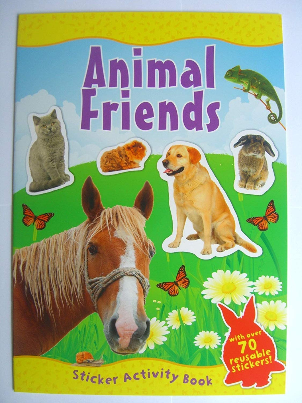 Animal Friends Sticker Activity book