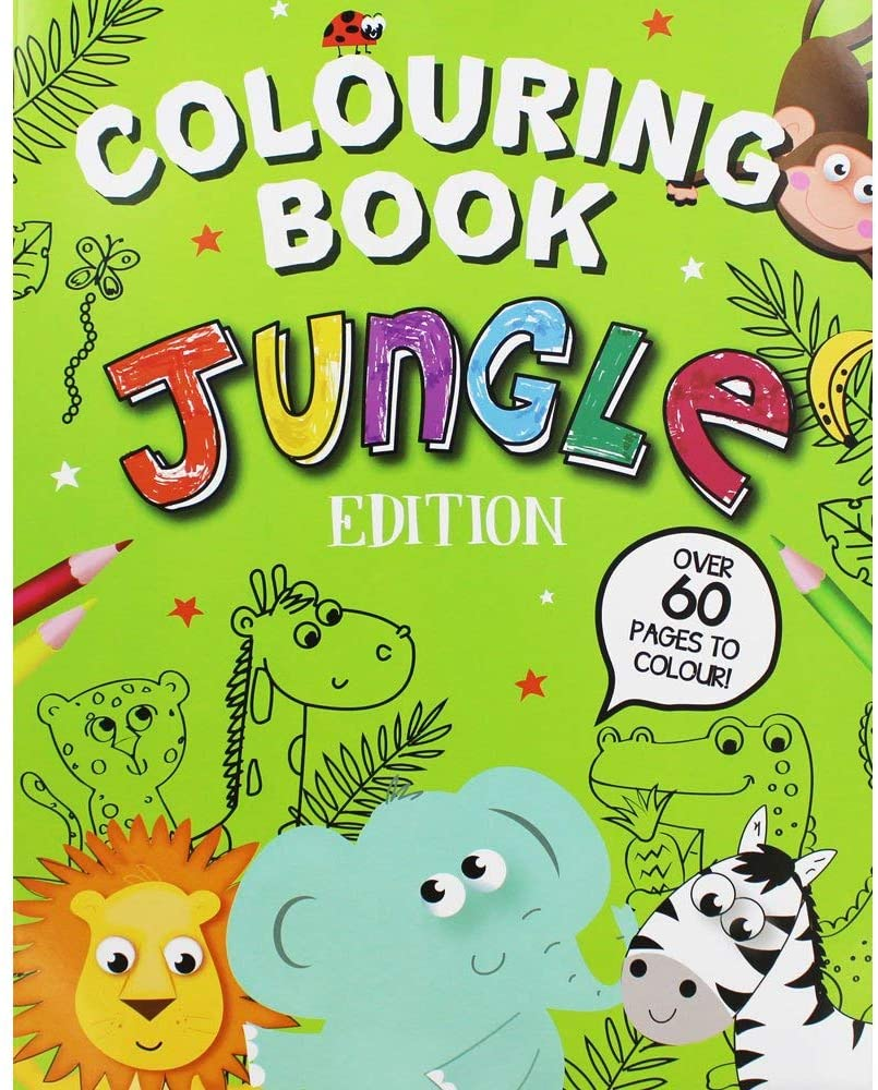 Colouring Book : Jungle