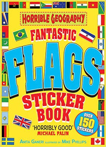 Horrible Geography: Fantastic Flags Sticker Book | Bags of Books | Ireland