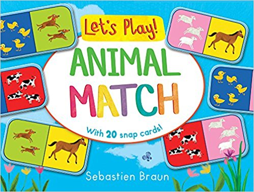 Lets Play! Animal Match-Board Books | Bags of Books | Dublin, Ireland