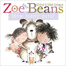 Zoe and Beans: How Many Pets? - Board Books | Bags of Books | Ireland