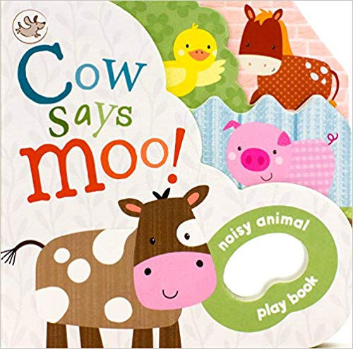 Little Learners Cow Says Moo - Board Books | Bags of Books | Ireland