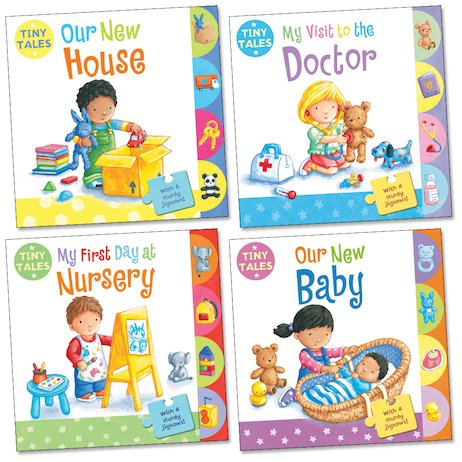 Tiny Tales: Set of 4 board Books