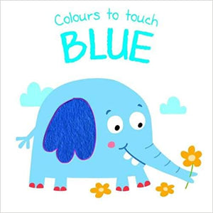 Colours to touch: BLUE