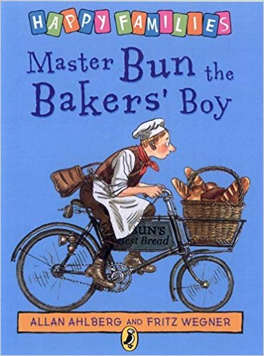 Master Bun the Bakers' Boy (Happy Families) | Bags of Books | Ireland