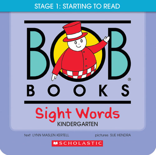 Bob Books: Stage 1 Sight words