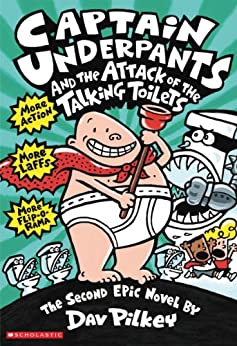 Captain Underpants and the Attack of the Talking Toilets: Book 2