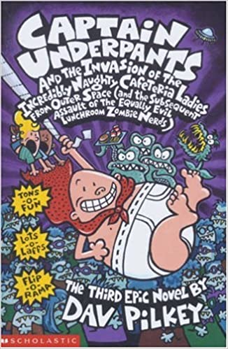 Captain Underpants:  Book 3