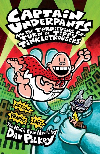 Captain Underpants: Book 9