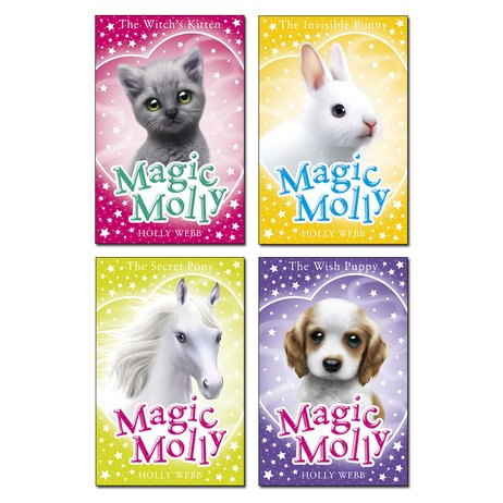 Set of 4 Magic Molly Books