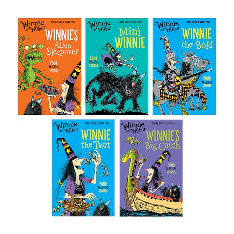 Winnie and Wilbur: Pack of 5 books
