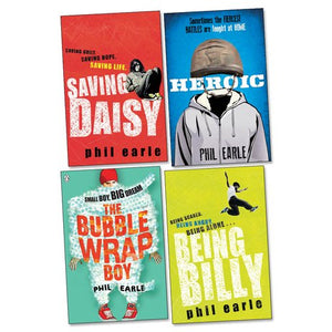 Pack of 4 Phil Earle non fiction books
