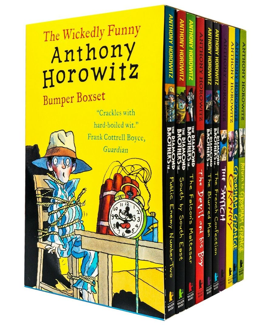 The Wickedly Funny Anthony Horowitz Boxset: 10 Books
