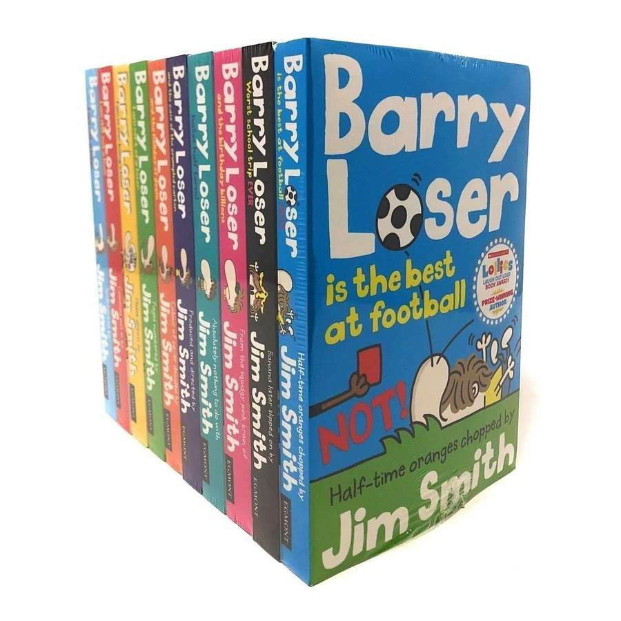 Barry Loser Collection: 10 Book Set