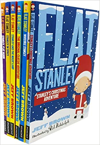 Pack of 6 Flat Stanley Books