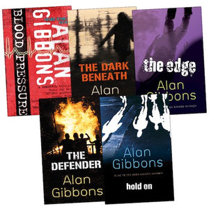 Pack of 5 Alan Gibbons fiction