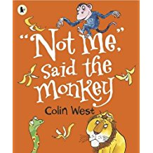 Not me, said the Monkey - Colin West Titles | Ireland