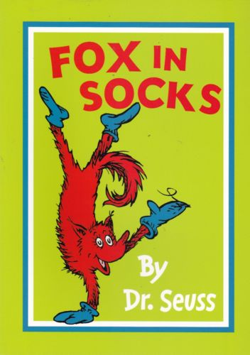 Fox in Socks -Bargain Dr Seuss Books | at Bags of Books | Ireland