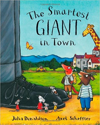 The Smartest Giant in Town- Julia Donaldson | Bags of Books | Ireland