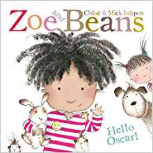 Zoe and Beans : Hello Oscar -Picture Flats | Bags of Books | Ireland